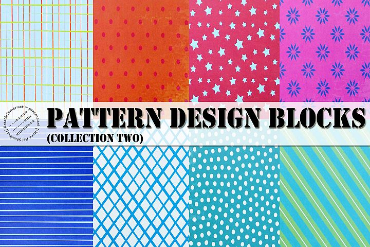 Pattern Design Block Collection 2