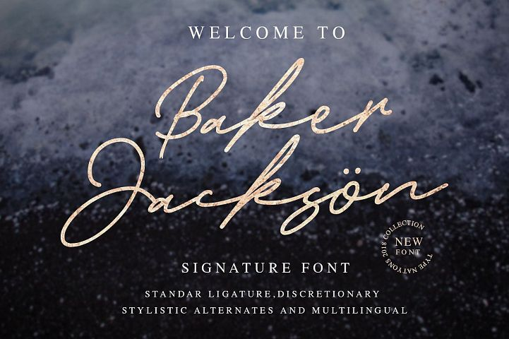 Baker Jackson Signature