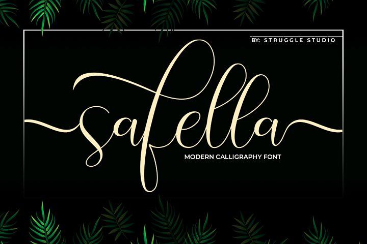 Safella - Modern Calligraphy
