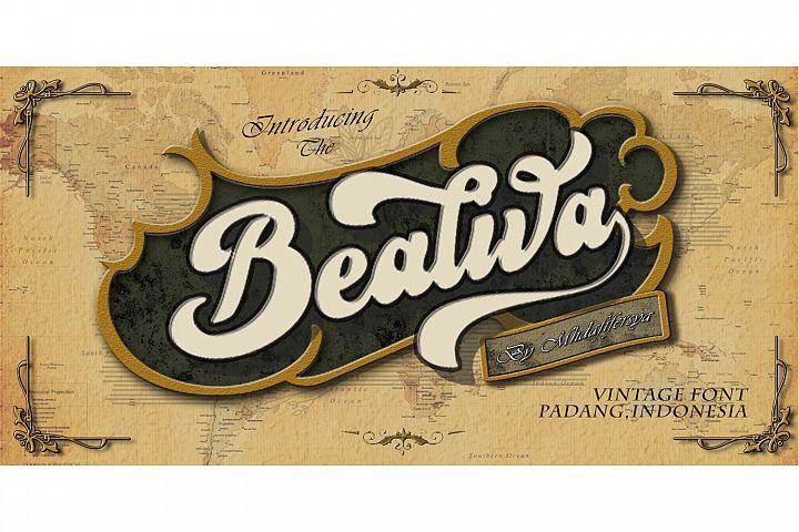 Bealiva Font