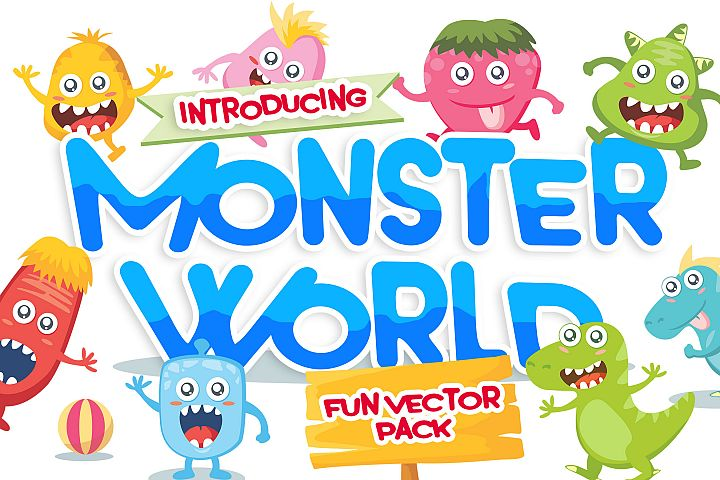 Monster Vector Pack