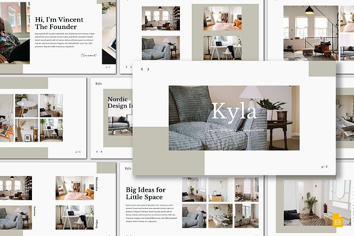 Kyla - Google Slides Template