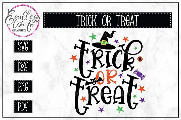 Trick Or Treat - Halloween SVG File - SALE Through 9/21