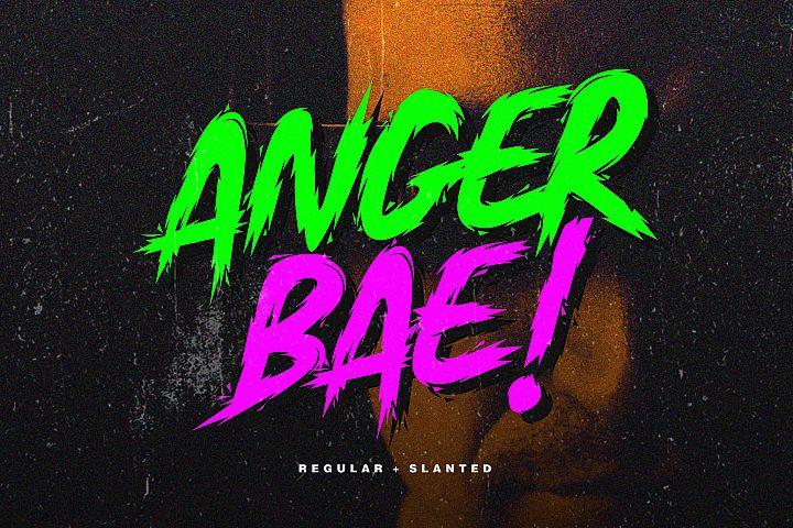 Anger Bae Font