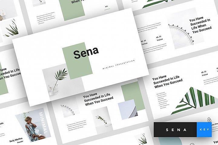 Sena - Minimal Keynote Template