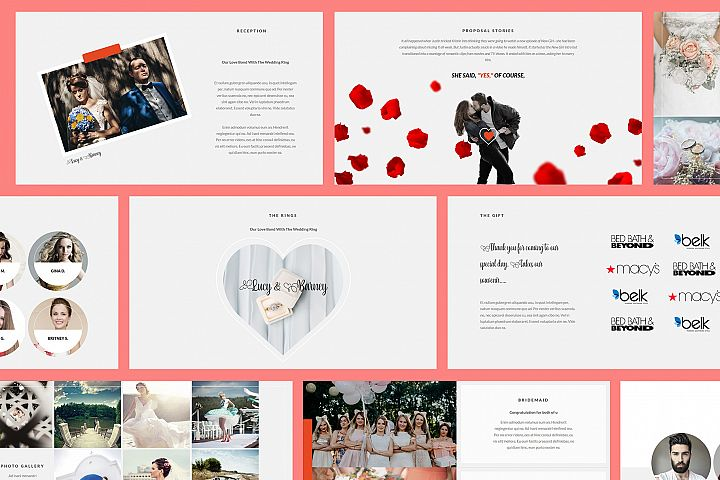 Wedding Google Slides Presentation