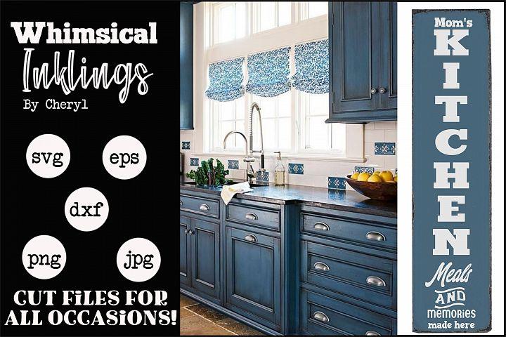 Moms Kitchen Vertical SVG