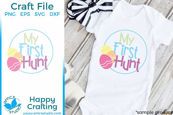 My First Hunt- Easter Cut Craft Files