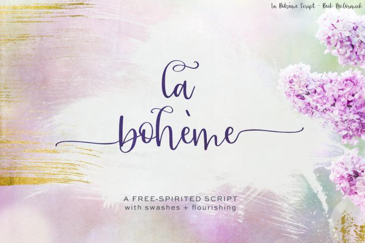 La Boheme Script