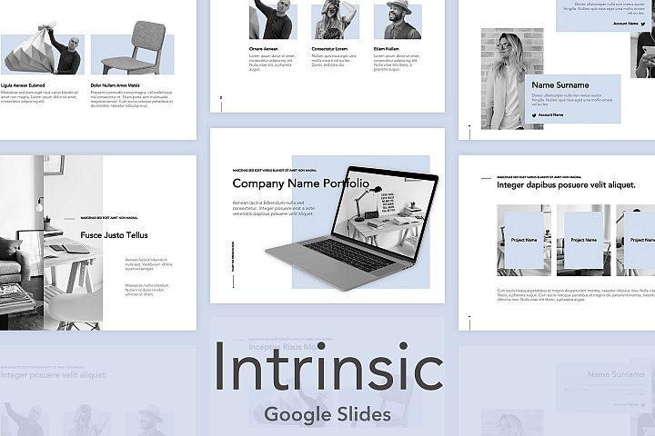 Intrinsic Google Slides Template