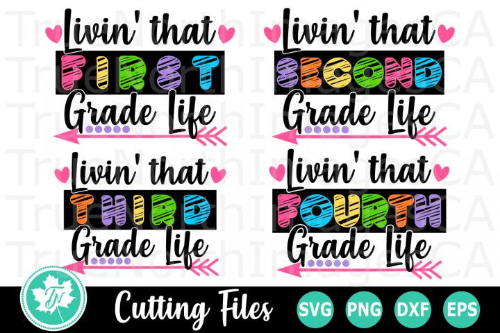 Livin that School Life - A School SVG Bundle