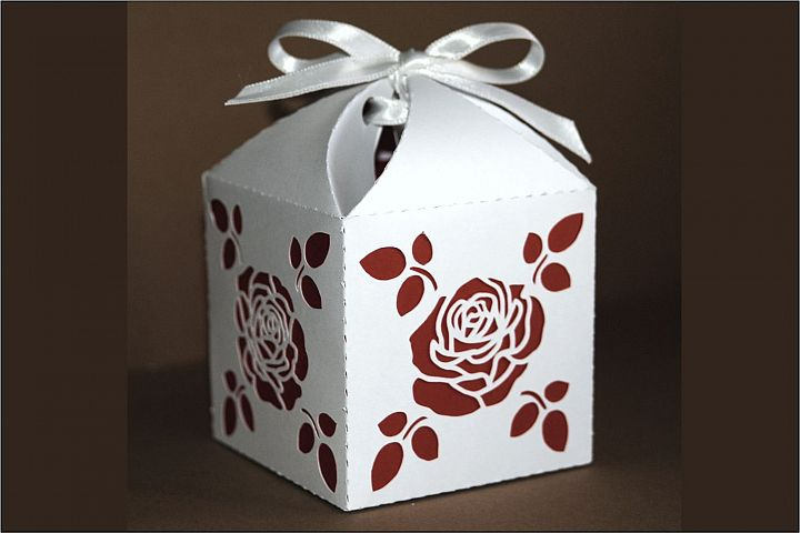Box 10 single piece with interior color SVG files.