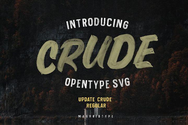 Crude OpenTypeSvg UPDATE