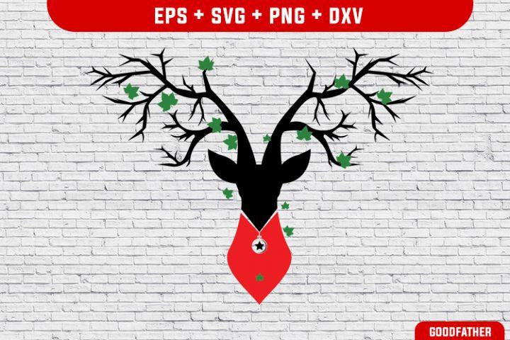 Deer, Deer Dog SVG, PNG, EPS, DXFCrafter SVGs