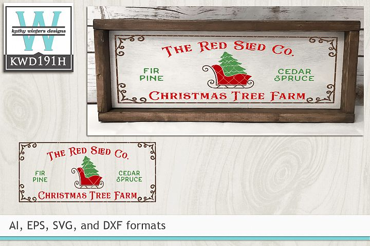 Christmas SVG - The Red Sled Co.