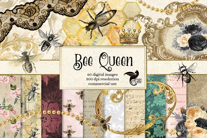 Queen BeeDigital Scrapbooking Kit