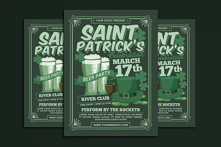 St Patricks Day Beer Party Celebration