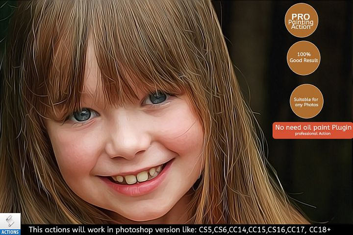 Ultimate Realistic Painting Effect - Photoshop Action