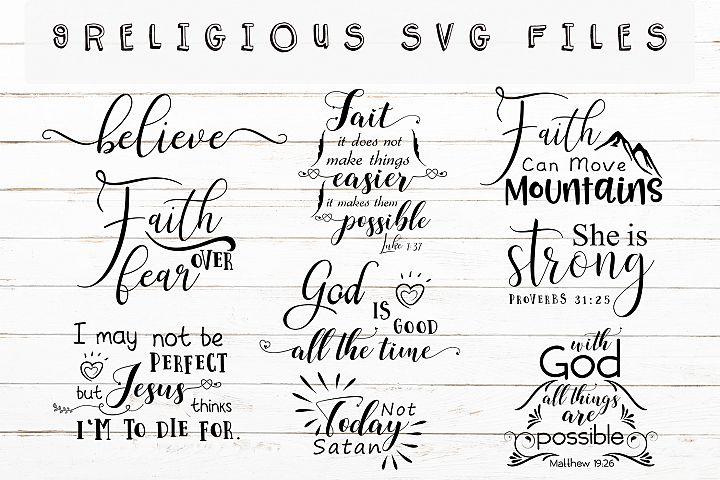 Christian Svg Bundl,Religious Svg