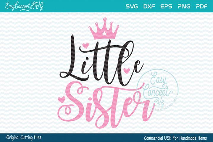 Little Sister SVG, sister svg,