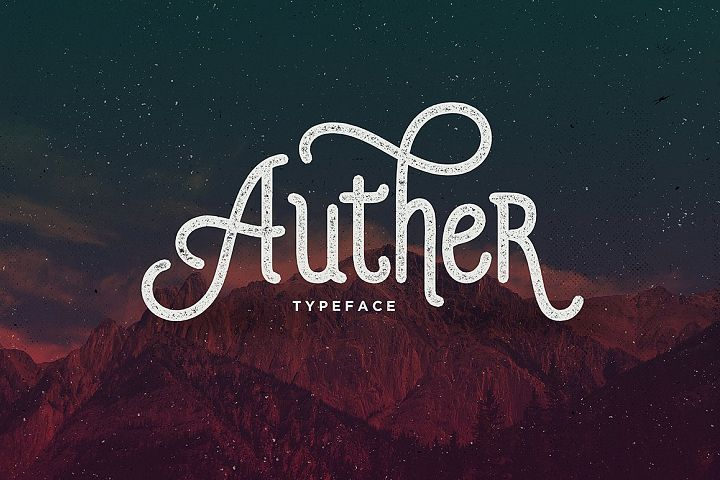 Auther Typeface