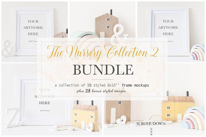 Nursery 8x10 Frame Mockup Bundle - bnd010