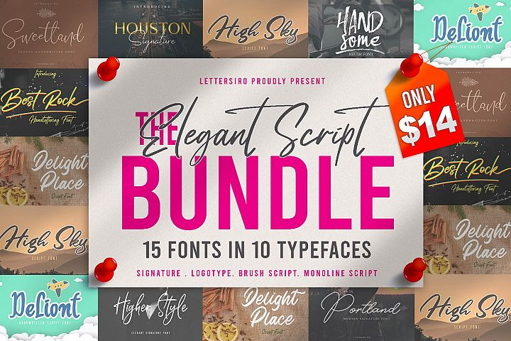 The Elegant Script Bundle