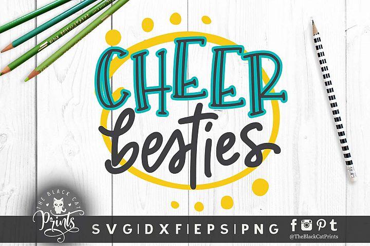 Cheer Besties SVG DXF PNG EPS