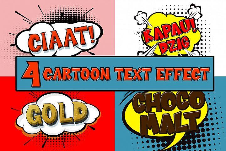 Cartoon Comical Text Effect