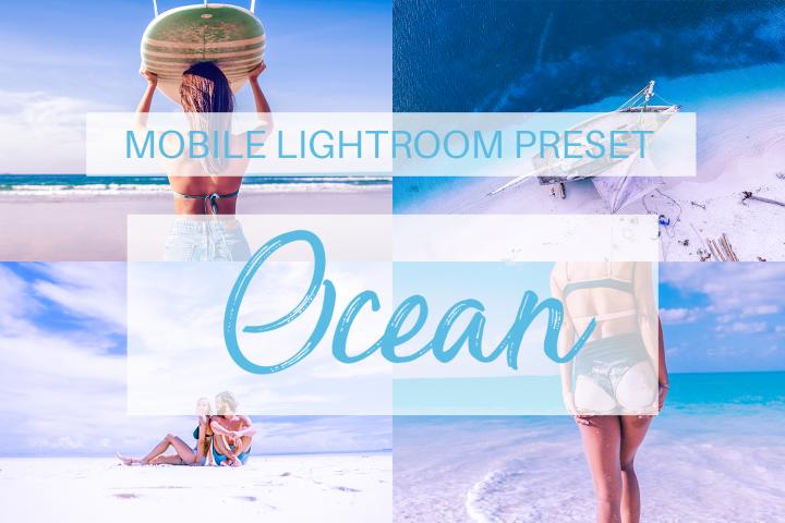 Ocean Mobile Lightroom Preset