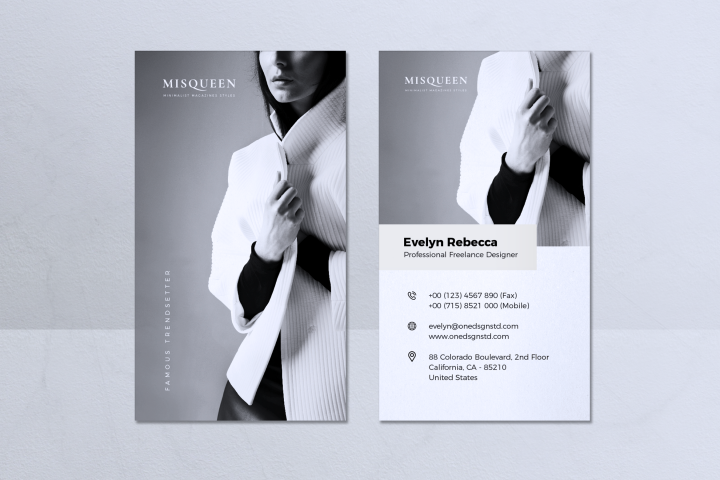 Minimalist Business Card Vol. 08