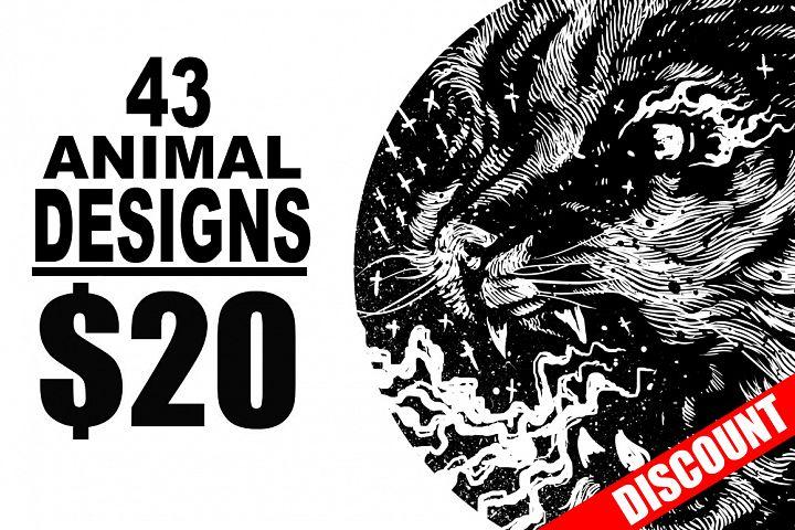 T-Shirt Designs Animal