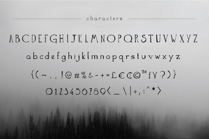 The Anomali - Free Font of The Week Design1