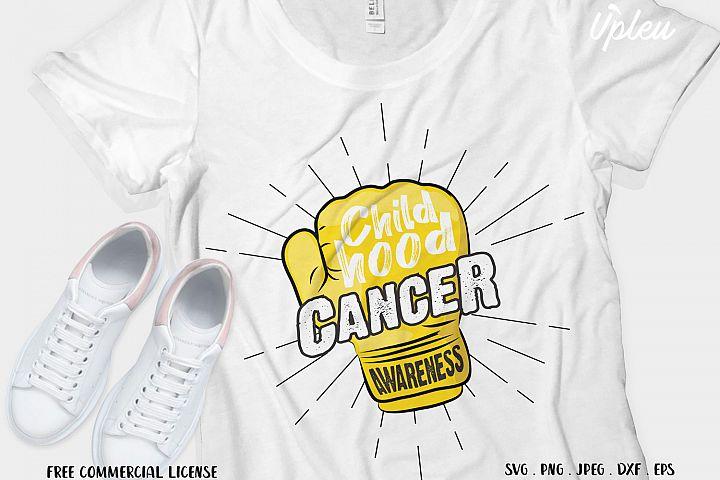 Childhood Cancer Awareness SVG