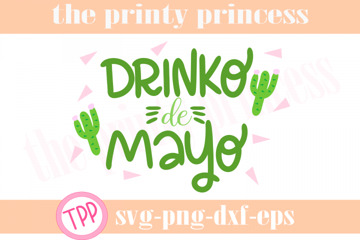 Drinko de Mayo svg, Cinco de Mayo svg, funny design