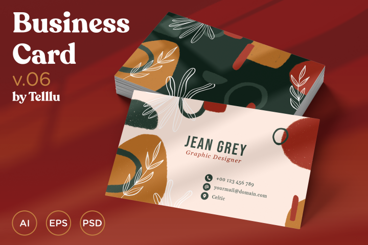 Business Card Template v06