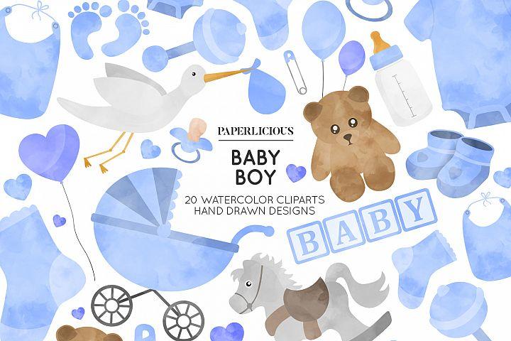 Baby Boy Nursery Cliparts