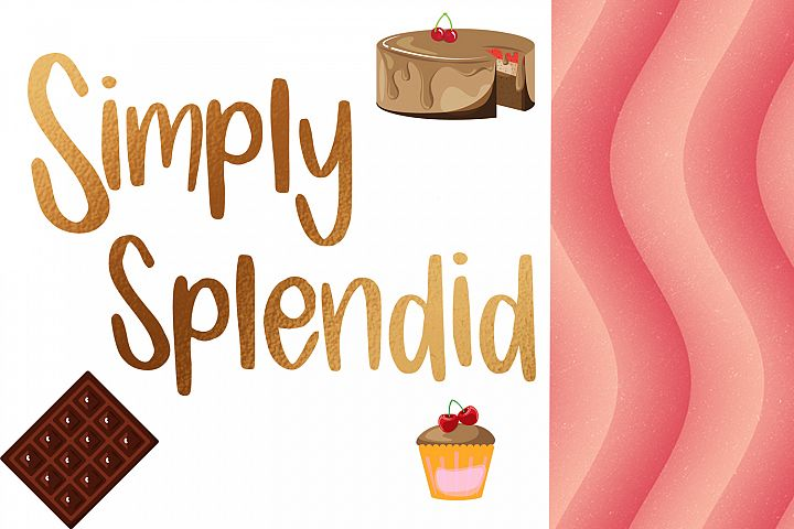 Candy Lane Font example 2