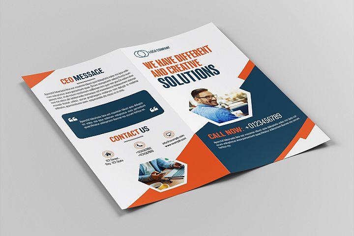 Bifold DL Brochure Template