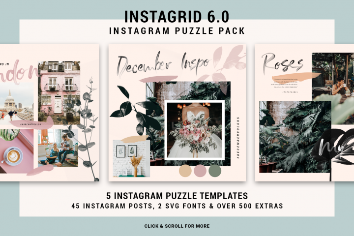 InstaGrid 6.0 - Instagram Puzzle Templates Pack