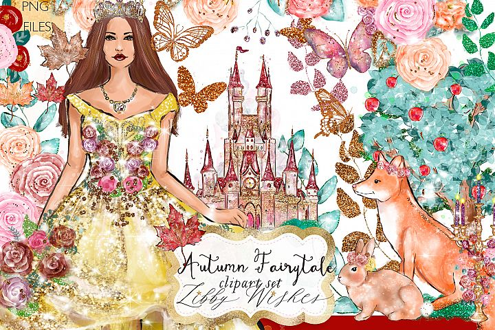 Autumn Fairytale clipart