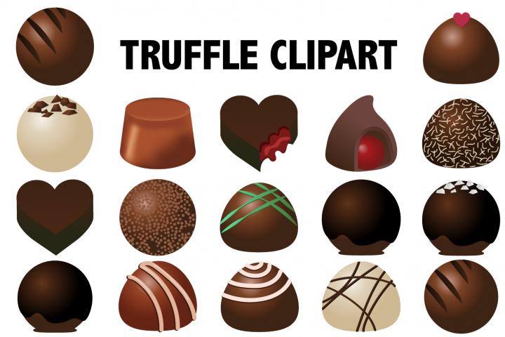Chocolate Truffles Clipart