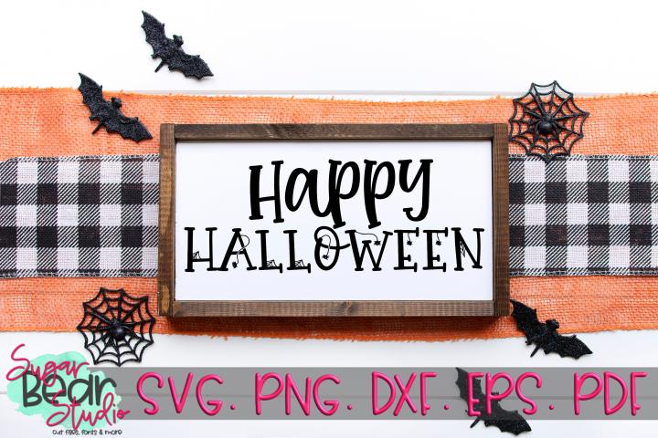 Happy Halloween - A Halloween SVG