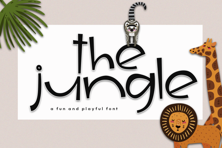 The Jungle - A Fun & Quirky Handwritten Font