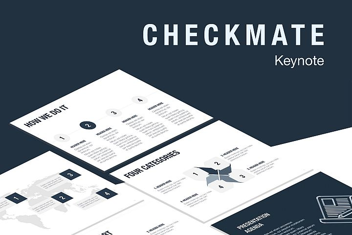Checkmate Keynote Template
