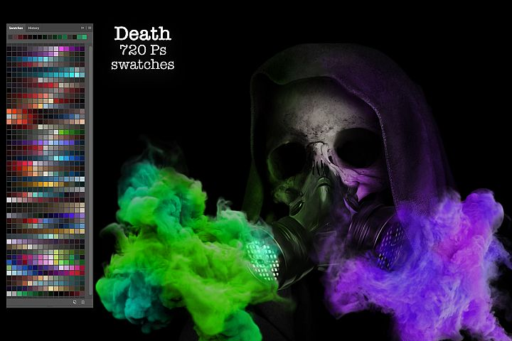 Death Ps Swatches