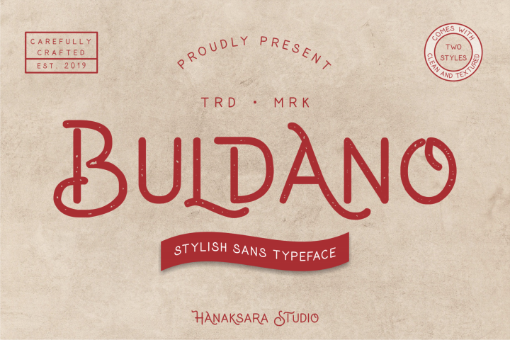 Buldano Stylish Sans
