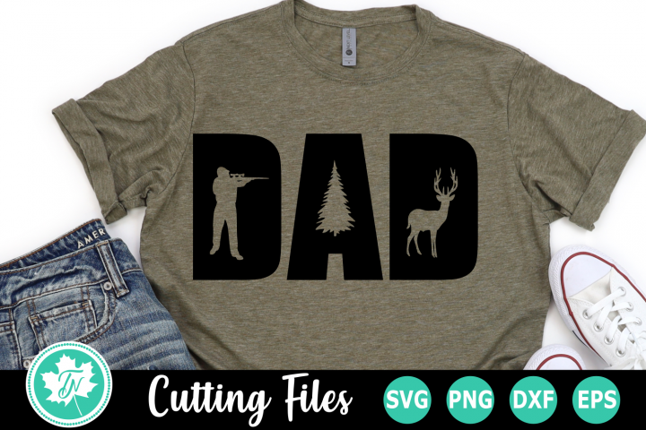 Dad Hunting - A Fathers Day SVG Cut File