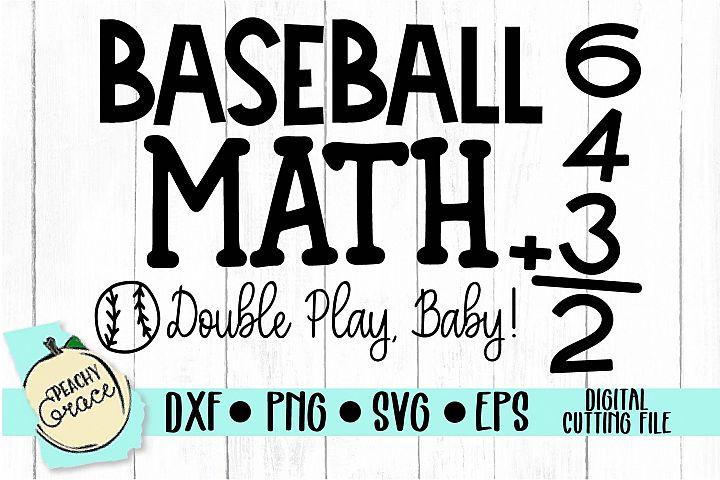 Baseball Math SVG