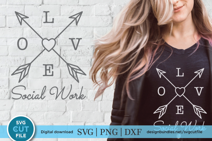 Social worker svg - a social work svg for crafters